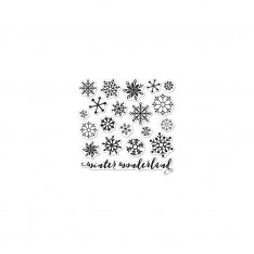 Набор акриловых штампов Snowflakes by Lia, Hero Arts, CL901