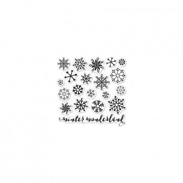 Купить Набор акриловых штампов Snowflakes by Lia, Hero Arts, CL901