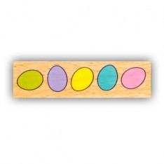 Резиновый штамп Colour Eggs, Hampton Art, VW0061-20