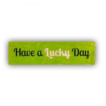 Купить Резиновый штамп Have a Lucky Day, Hampton Art, VW0061-23