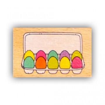 Купить Резиновый штамп Egg Carton, Hampton Art, VW0061-15