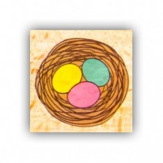 Резиновый штамп Nest, Hampton Art, VW0061-9