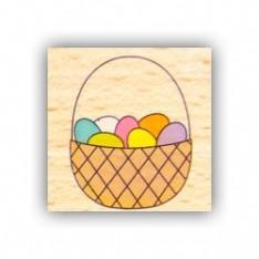 Резиновый штамп Basket, Hampton Art, VW0061-8