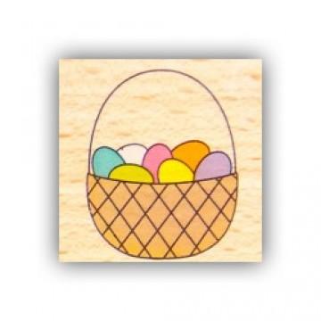 Купить Резиновый штамп Basket, Hampton Art, VW0061-8
