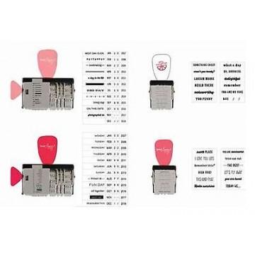 Купить Набор штампов Date Stamp Kit, American Crafts, 366254