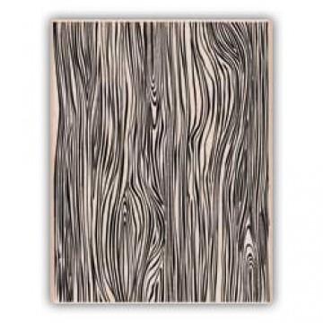 Купить Резиновый штамп Designer Woodgrain, Hero Arts, S5208