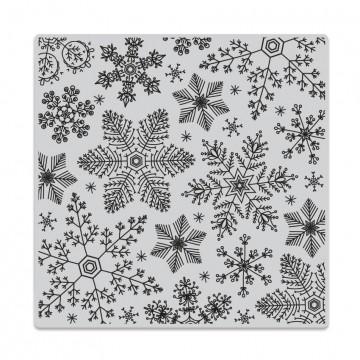 Купить Резиновый штамп Hand Drawn Snowflakes Bold Prints, Hero Arts, CG685