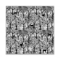Резиновый штамп Forest And Deer Bold Prints, Hero Arts, CG700