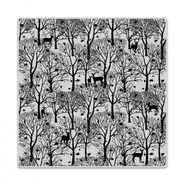 Купить Резиновый штамп Forest And Deer Bold Prints, Hero Arts, CG700