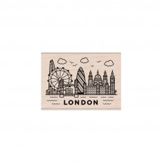 Резиновый штамп Destination London, Hero Arts, H6195