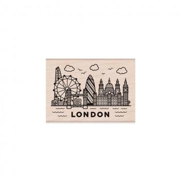 Купить резиновый штамп Destination London, Hero Arts, H6195