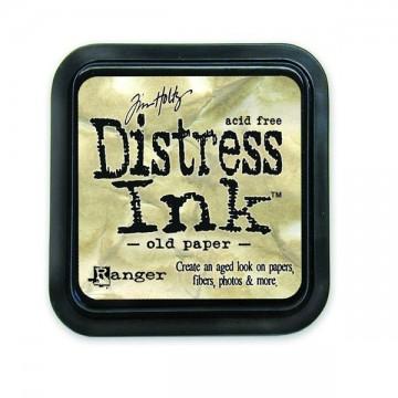 Купить Штемпельная подушечка Distress Old Paper, Ranger, TIM19503