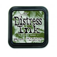 Штемпельная подушечка Distress Forest Moss, Ranger, TIM27133
