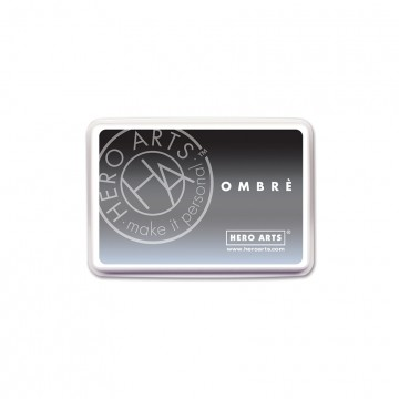 Купить Чернило для штампинга Ombre Soft Granite to Black, Hero Arts, AF307