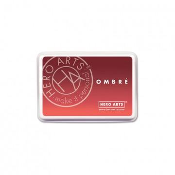 Купить Чернило для штампинга Ombre Light to Red Royal, Hero Arts, AF319