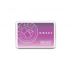 Чернило для штампинга Ombre Light Purple to Grape, Hero Arts, AF313