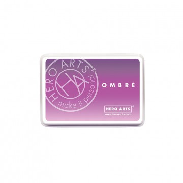 Купить Чернило для штампинга Ombre Light Purple to Grape, Hero Arts, AF313
