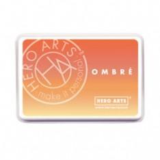 Чернило для штампинга Ombre Butter To Orange, Hero Arts, AF309