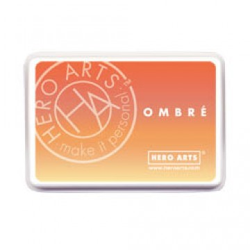 Купить Чернило для штампинга Ombre Butter To Orange, Hero Arts, AF309