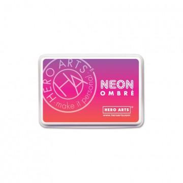 Купить Чернило для штампинга Ombre Neon Red to Purple, Hero Arts, AF330
