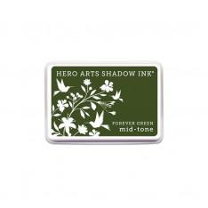 Чернило для штампинга Forever Green, Hero Arts, AF229