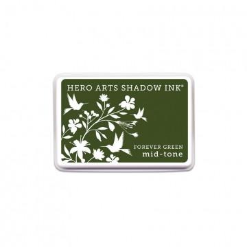 Купить Чернило для штампинга Forever Green, Hero Arts, AF229