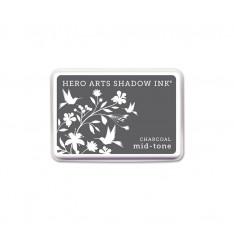 Чернило для штампинга Charcoal, Hero Arts, AF236