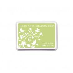 Чернило для штампинга Lime Green, Hero Arts, AF262