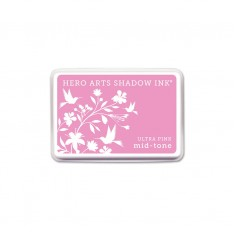 Чернило для штампинга Ultra Pink, Hero Arts, AF263
