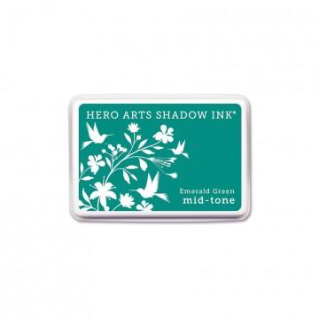 Купить Чернило для штампинга Emerald Green, Hero Arts, AF315