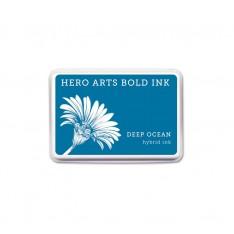 Чернило для штампинга Deep Ocean, Hero Arts, AF340
