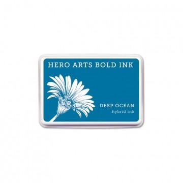 Купить Чернило для штампинга Deep Ocean, Hero Arts, AF340