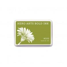 Чернило для штампинга Moss, Hero Arts, AF343