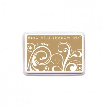 Купить Чернило для штампинга Gold, Hero Arts, AF258