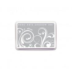 Чернило для штампинга Silver, Hero Arts, AF257