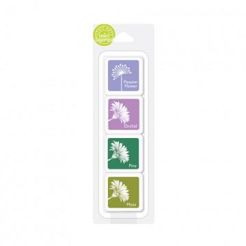 Купить Чернило для штампинга Libby's Purple Garden, Hero Arts, AF358