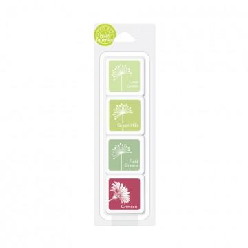 Купить Чернило для штампинга Amy's Shades of Green, Hero Arts, AF359