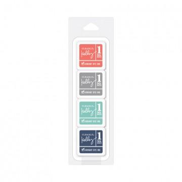 Купить Чернило для штампинга Kelly's Urban Cubes Pack, Hero Arts, AF326