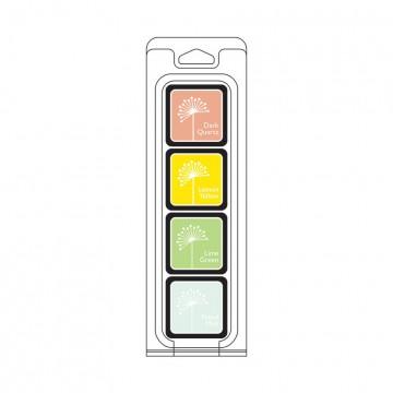 Купить Чернило для штампинга Early Spring Cubes Pack, Hero Arts, AF264
