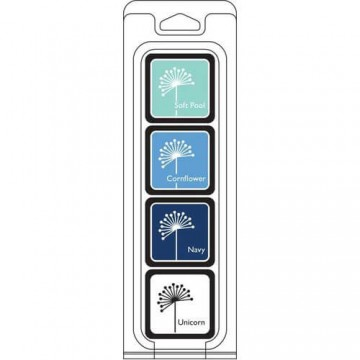 Купить Чернило для штампинга Winter Cubes Pack, Hero Arts, AF296