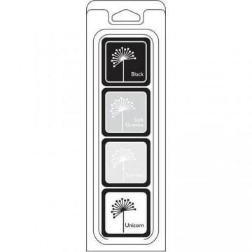 Купить Чернило для штампинга Blackboard Cubes Pack, Hero Arts, AF251