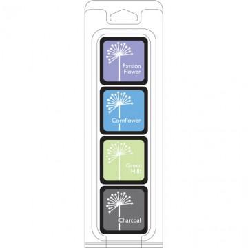Купить Чернило для штампинга Field Notes Ink Cubes Pack, Hero Arts, AF240