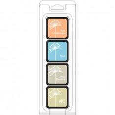Чернило для штампинга Just Beachy Ink Cubes Pack, Hero Arts, AF239