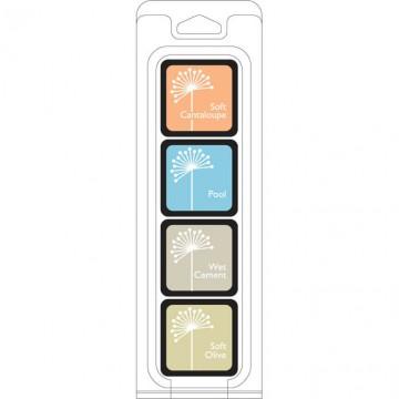 Купить Чернило для штампинга Just Beachy Ink Cubes Pack, Hero Arts, AF239