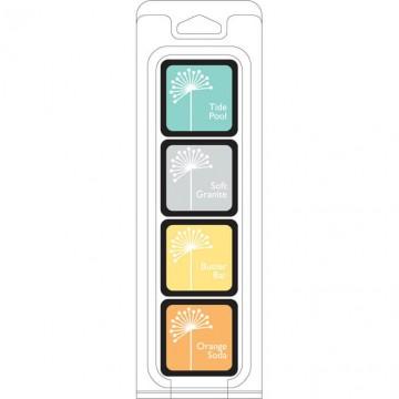 Купить Чернило для штампинга Summer Splash ink Cubes Pack, Hero Arts, AF237