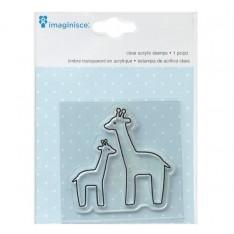 Штамп акриловый My Baby – Giraffe, Imaginisce, 400525