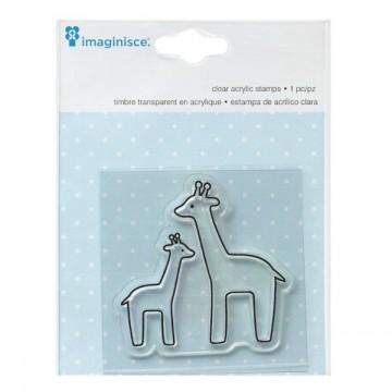 Купить Штамп акриловый My Baby – Giraffe, Imaginisce, 400525