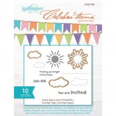 Ножи и штампы Sunny Days, Celebra'tions™, Spellbinders, SCSD-009