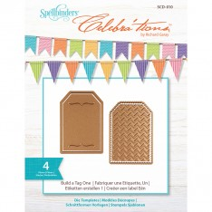 Ножи Build-a-Tag One, Celebra'tions™, Spellbinders, SCD-010