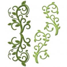 Ножи Foliage Flourish, Spellbinders, S4-430